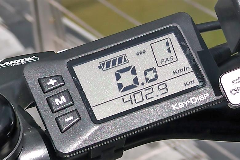 מסך תצוגה של אופני דיאמונד