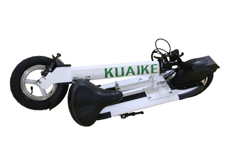 קורקינט חשמלי smart S1 מבית Kuaike במצב מקופל
