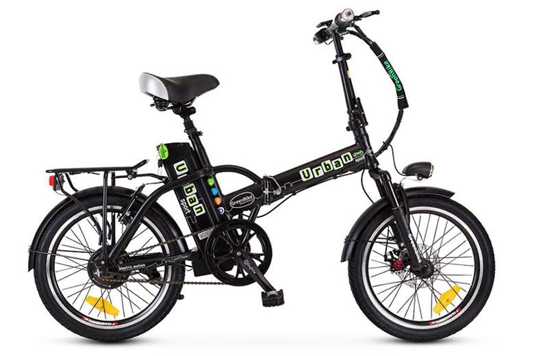 אורבן ספורט שחור ירוק מבית גרין בייק