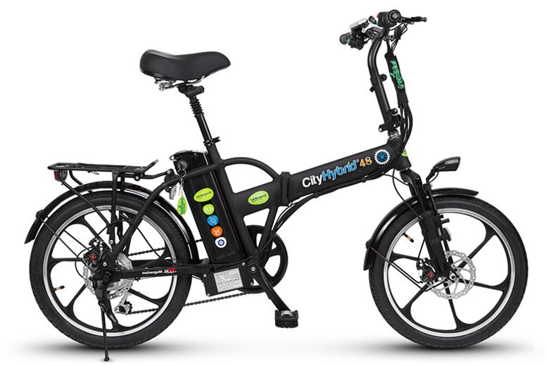 אופניים חשמליים הייבריד מבית גרין בייק