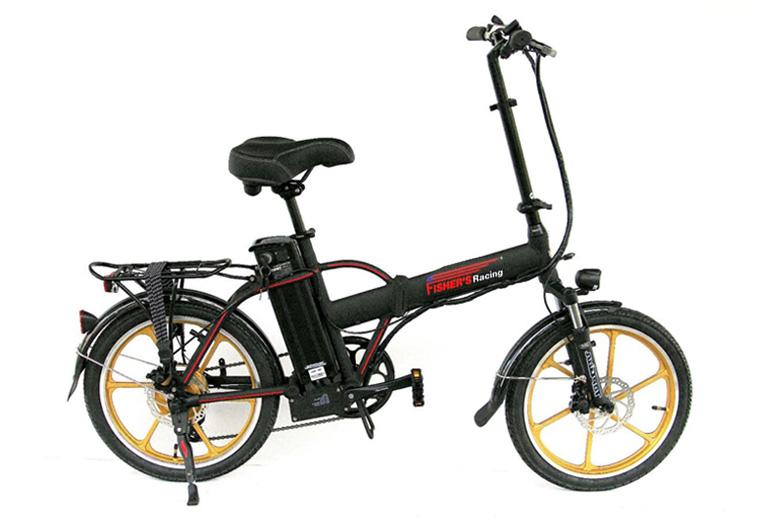 אופניים חשמליים סילבר מגנזיום 2017 Silver Mag מבית פישר