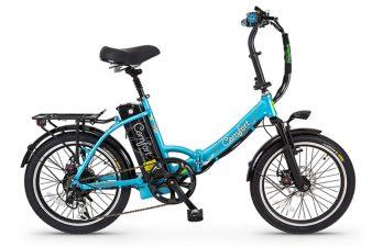 אופני קומפורט בצבע כחול מבית גרין בייק