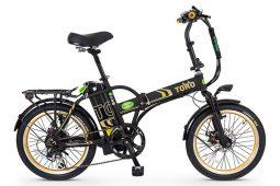 אופני טורו בצבע שחור זהב מבית גרין ביק