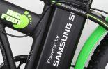 סוללת סמסונג של אופניים חשמליים Bigfoot 4
