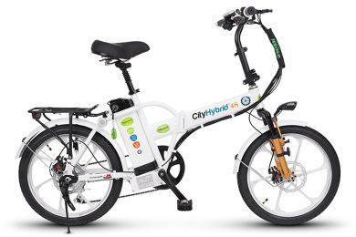אופני הייבריד לבנים