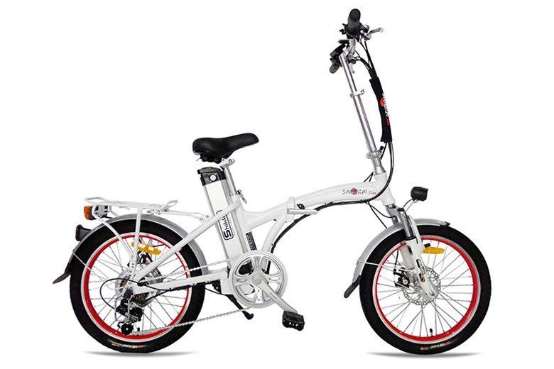 אופני Samurai לבנים מבית שיקו
