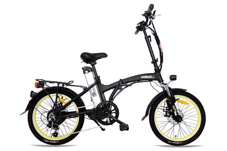 אופני Samurai שחור צהוב מבית שיקו