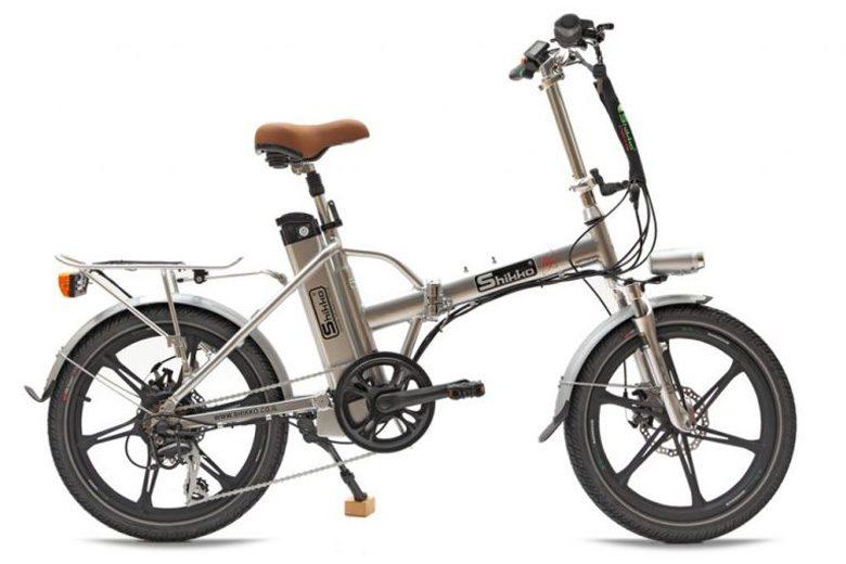 שיקו פרו , אופניים חשמליים מבית שיקו בצבע אפור