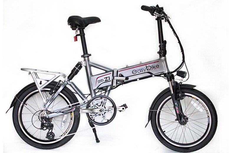אופני Z1 איזיבייק בצבע כסוף