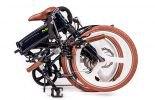 MII2 אופניים חשמליים במצב מקופל מבית סיבוב בעיר 3