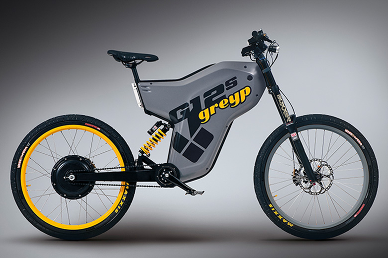 אופני greyp G12 בצבעאפור