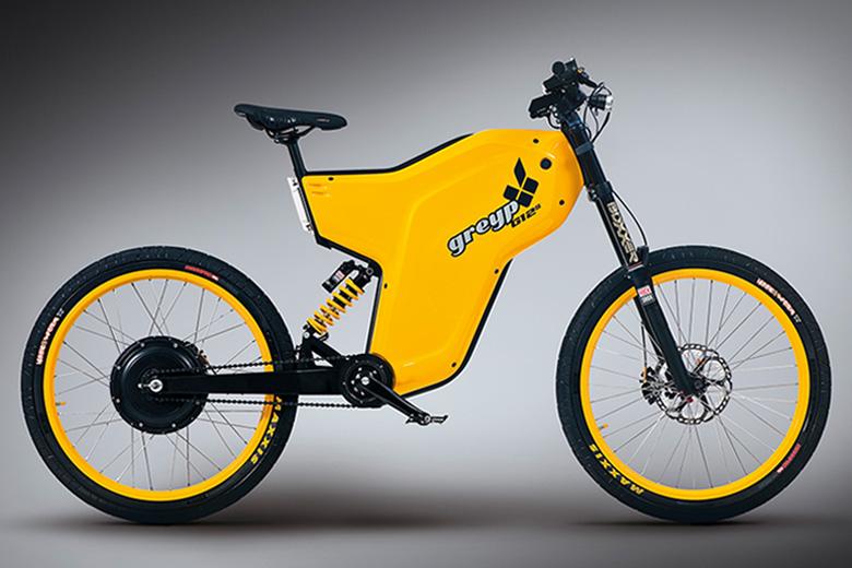 אופני greyp G12 בצבע צהוב