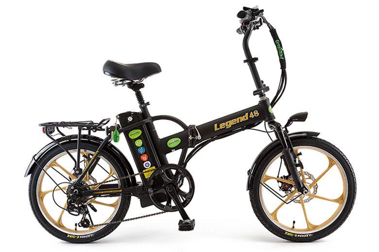 אופני לגנד שחור זהב