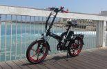 אופניים חשמליים שיקו טייגר על החוף 5