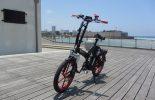 אופניים חשמליים שיקו טייגר על הדק בנמל 9