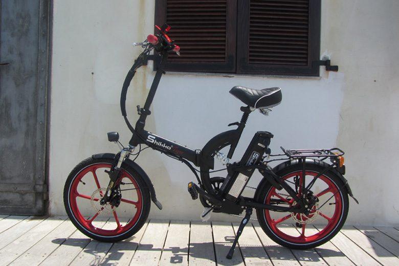 אופניים חשמליים שיקו טייגר על דק