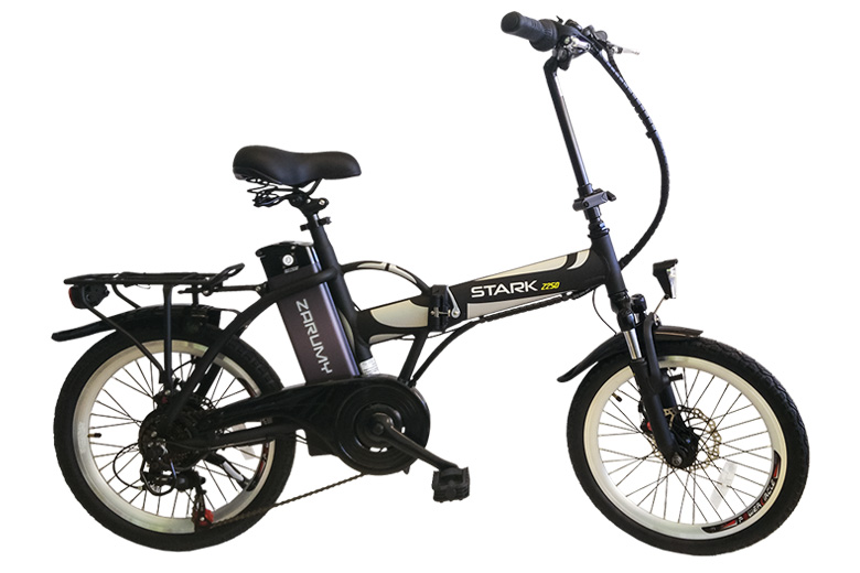 stark 2250 אופניים חשמליים שחורים מבית צרומי