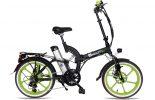 אופניים חשמלים שיקו טייגר שחור ירוק 1