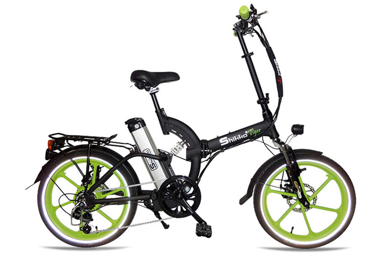 אופניים חשמלים שיקו טייגר שחור ירוק