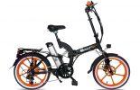 אופניים חשמלים שיקו טייגר שחור כתום 2