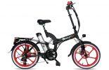 אופניים חשמלים שיקו טייגר שחור אדום 0