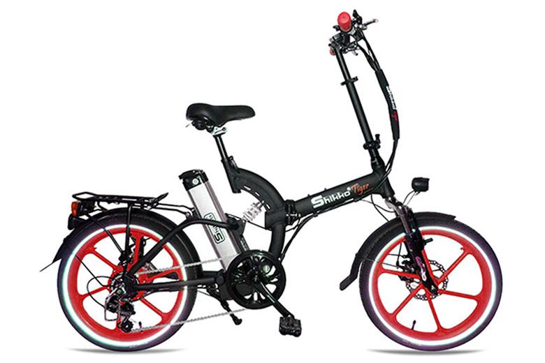 אופניים חשמלים שיקו טייגר שחור אדום