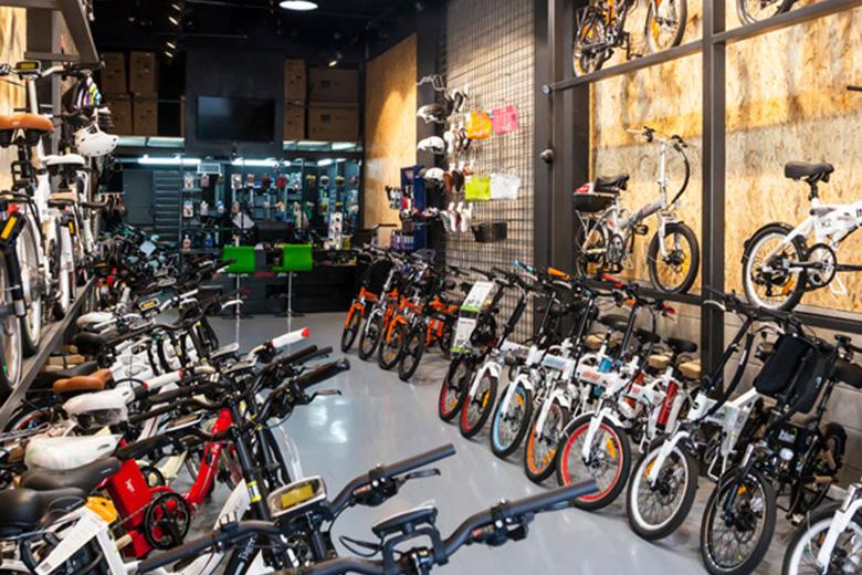 חנות אופניים חשמליים