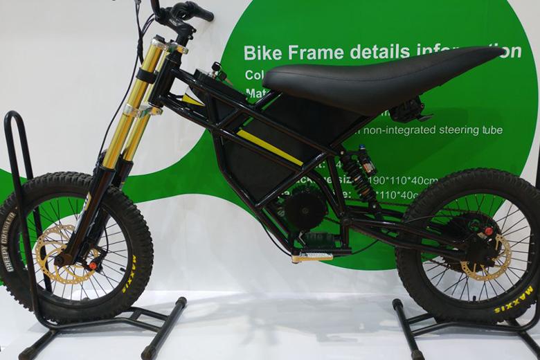 אופניים חשמליים מתוך תערוכה בסין