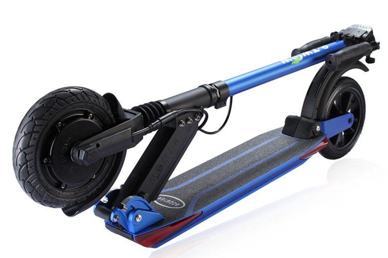 קורקינט חשמלי -etWow-Booster-Plus מקופל בצבע כחול