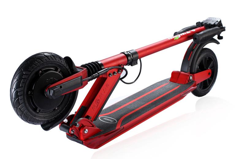 קורקינט חשמלי -etWow-Booster-Plusמקופל בצבע אדום
