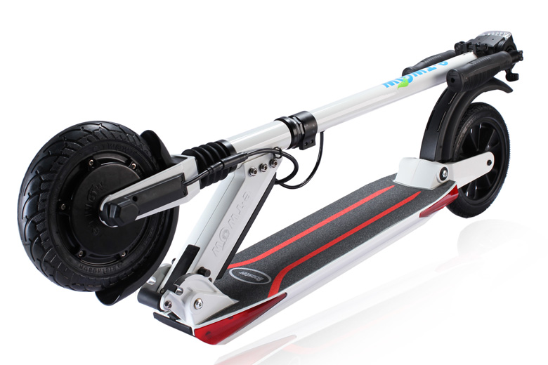 קורקינט חשמלי etWow-Booster-Plus בצבע לבן
