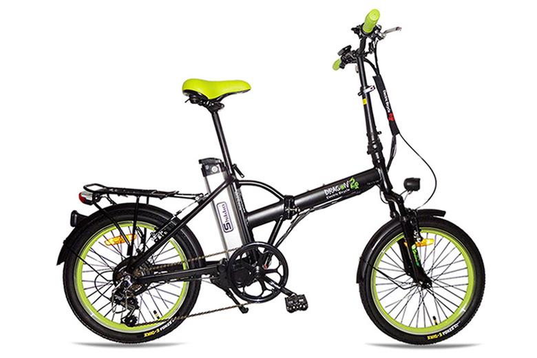 אופני דרגון צהוב ירוק מבית שיקו
