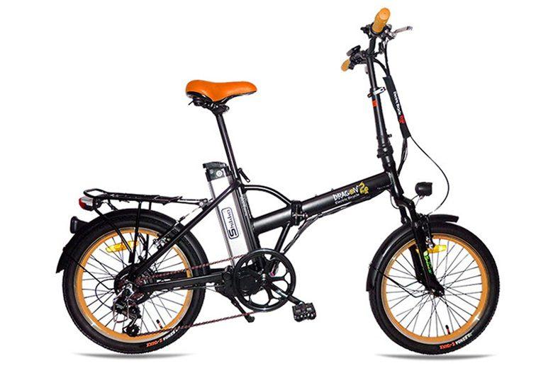 אופני דרגון שחור כתום מבית שיקו