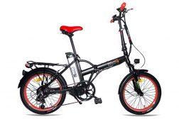 אופני דרגון שחור אדום מבית שיקו