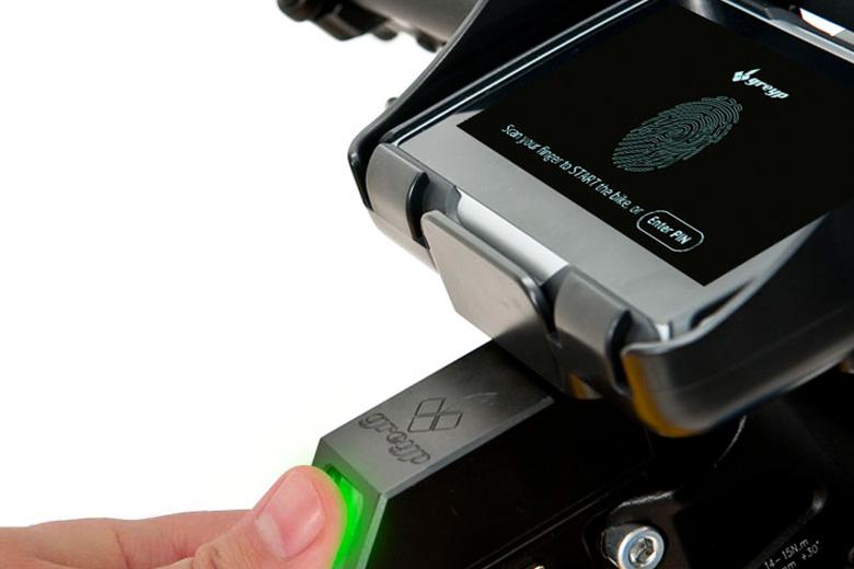 greyp-אבטחה לאופניים חשמליים בטביעת אצבע