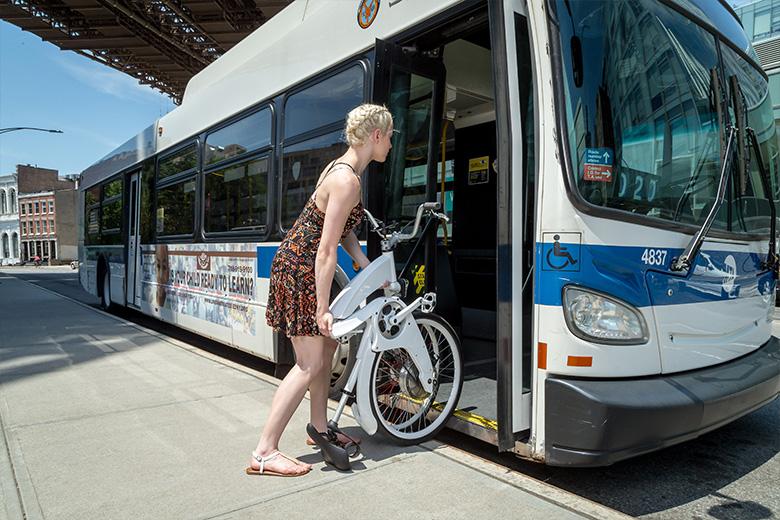 Gi-flybikeאופניים חשמליים בתחבורה ציבורית