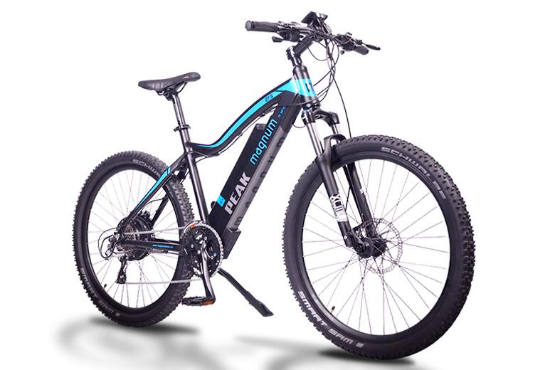 אופניים חשמליים מגנום peak
