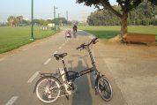 אופניים חשמליים בשביל אופניים