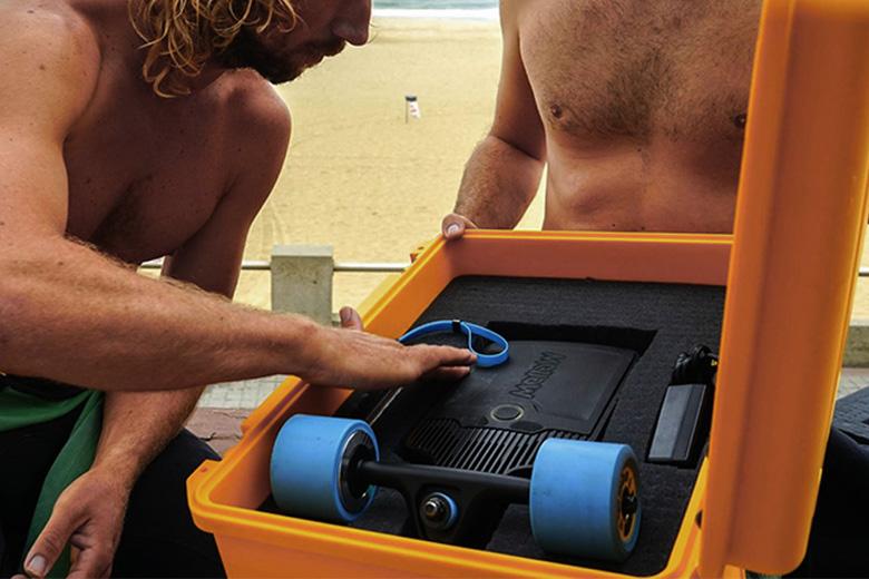 mellowboard סקייטבורד חשמלי בקופסא