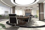 משרד מרווח עם מקום לאופניים חשמליים