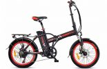אופניים חשמלים שחורים- סמארט uforce מבית עולם הגלגלים 0