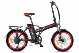 אופניים חשמלים שחורים- סמארט uforce מבית עולם הגלגלים