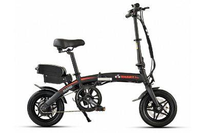 אופניים חשמליים -smart-bike-nano בצבע שחור