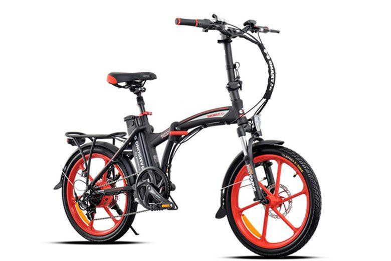 אופניים חשמליים smart-fury בצבע שחור