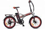אופניים חשמלים כסופיים- סמארט uforce מבית עולם הגלגלים 1