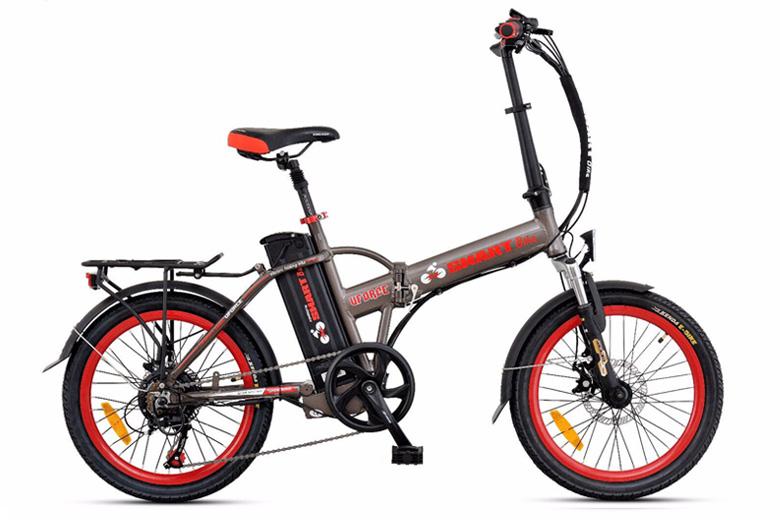 אופניים חשמלים כסופיים- סמארט uforce מבית עולם הגלגלים