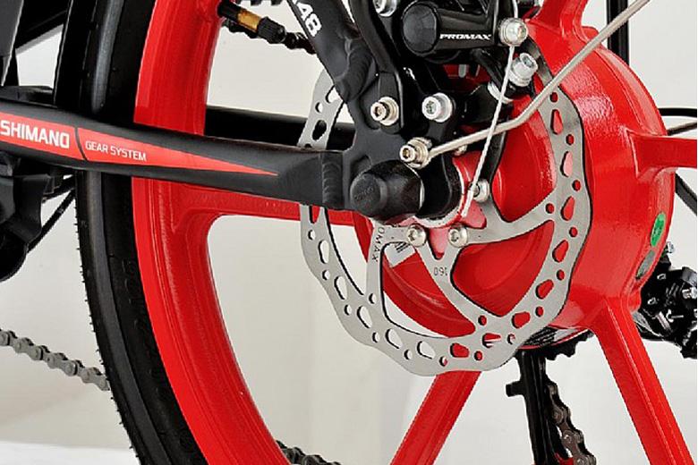 גלגל של אופניים חשמליים סמארט בייק m48 מבית עולם הגלגלים