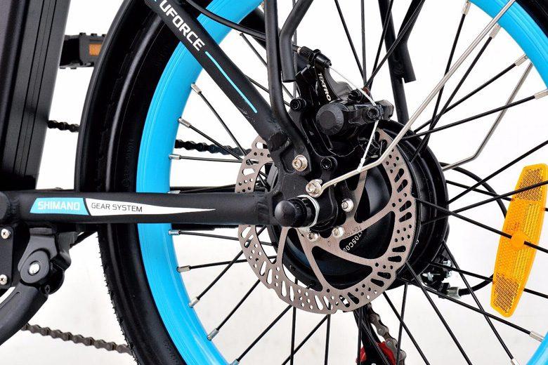 גלגל של אופניים חשמלים סמארט uforce מבית עולם הגלגלים