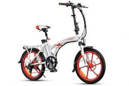 אופניים חשמליים smart-fury בצבע לבן