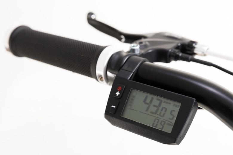 מסך תצוגה דיגיטלית של אופניים חשמליים lynxcycle